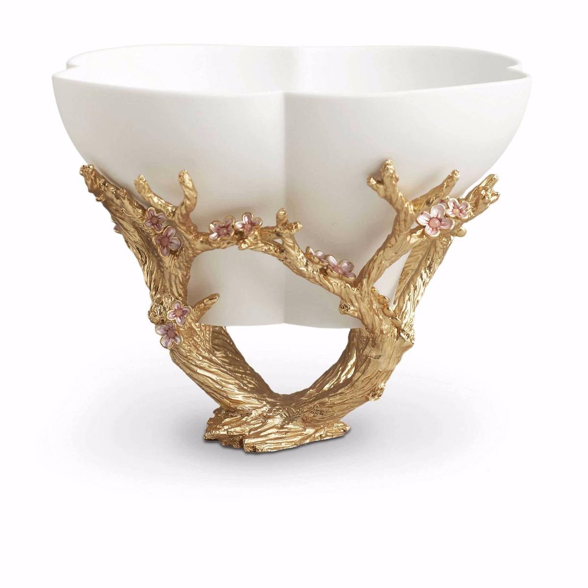 Luxury accessory Cherry bowl handmade in London Workshop by Luxuria London