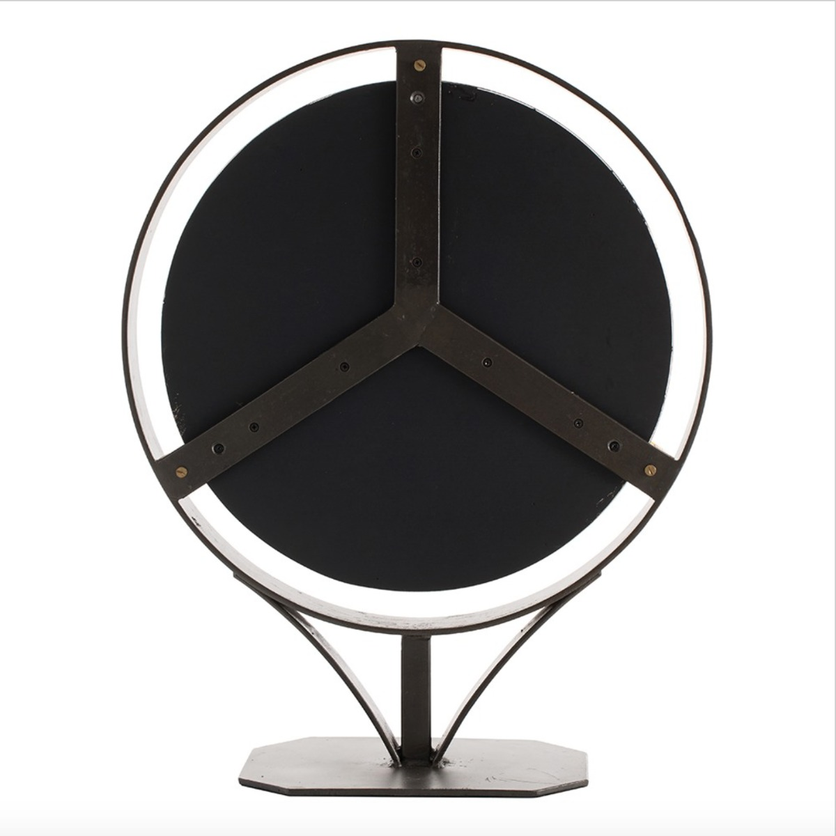 Unique luxury cosmetic mirror industrial style at Luxuria London