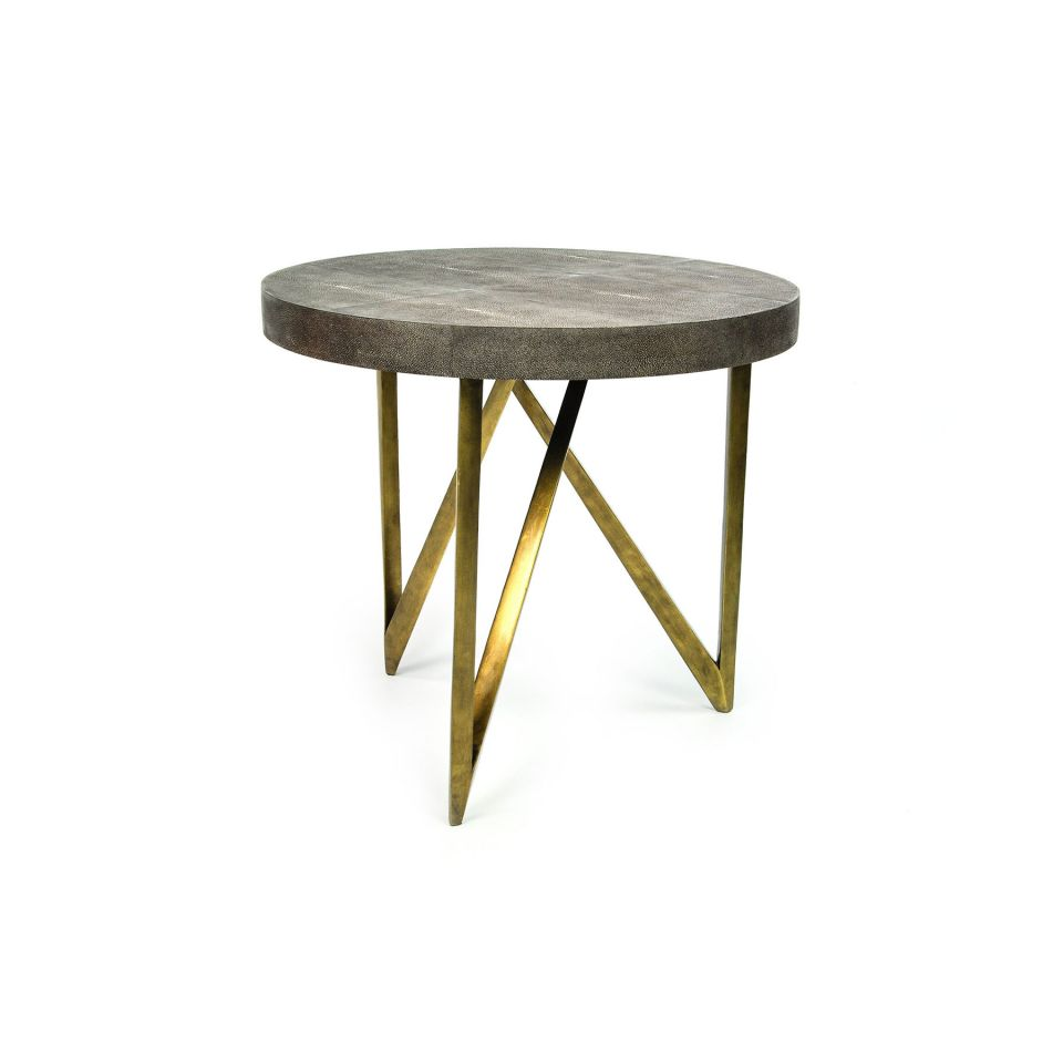 Faux Side Table