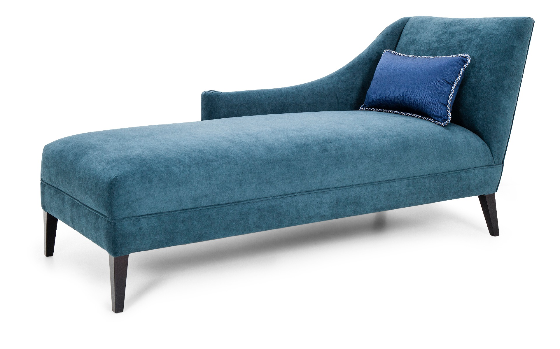 Luxury blue Connel Chaise by Luxuria London