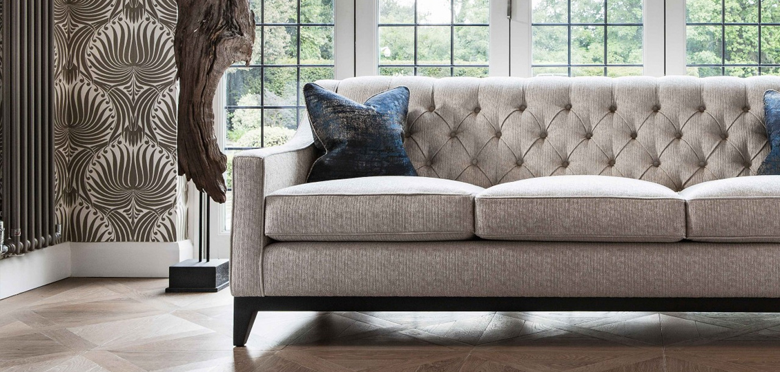 Each Sofa Is Available For Customisation In The Fabric Or Leather Of Your  Choice. You Can Also Select From A Wide Range Of Finishes ...